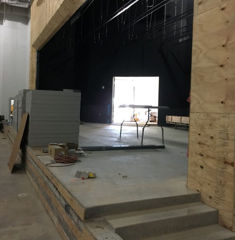 Auditorium Stage entry